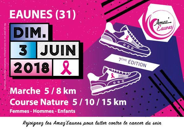 Comme nous !!! Rejoignez les Amaz'Eaunes pour lutter contre le cancer du sein.